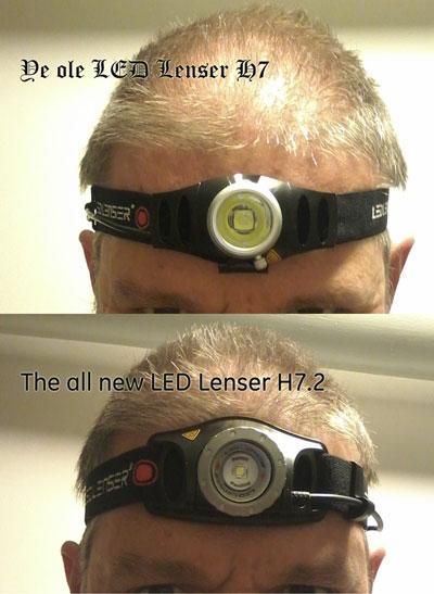 beide Stirnlampen