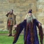 Hagrid und Dumbledore in Alnwick
