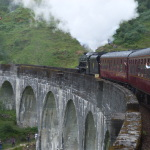 The Jacobite am Glenfinnan Viaduct